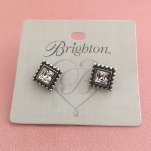 NWT Brighton square twinkle studs